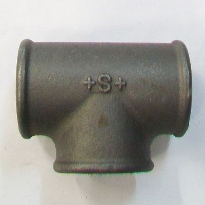 Malleable Black Iron Tee 1.1/2 inch BSP - 22000631